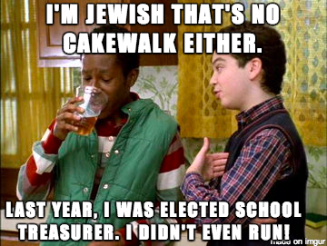 Funny Jew Meme : Being black compared to being jewish meme on freaks and geeks