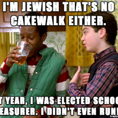 Being Black Compared To Being Jewish Meme On Freaks and Geeks_408x408 what to do if i'm ever on life support meme