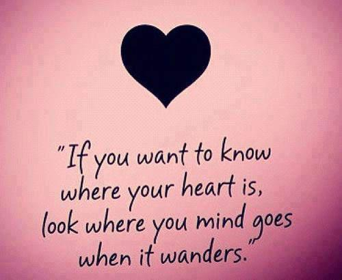 Find Out Where Your Hearts With A Wandering Mind