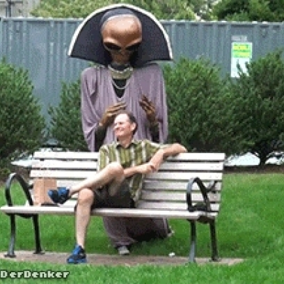 Lost-Alien-Asks-An-Old-Man-Relaxing-By-T