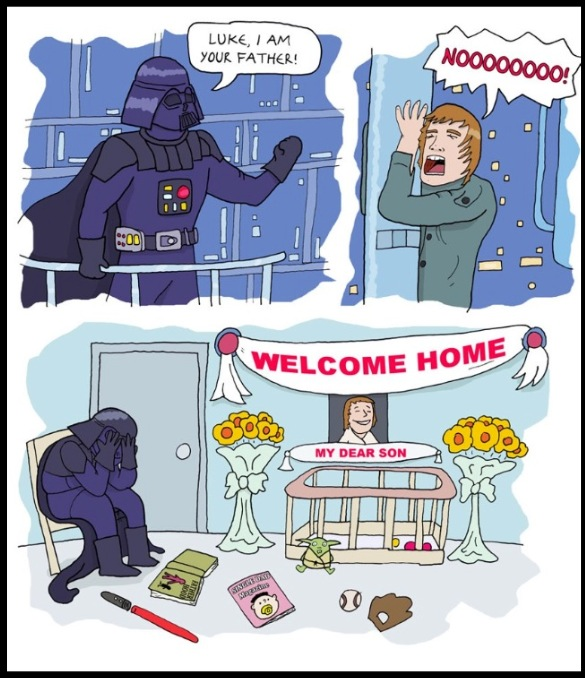 3eefcc7e Darth Vader's Plan To Wins Back His Son's Love Backfires In Star Wars Comic