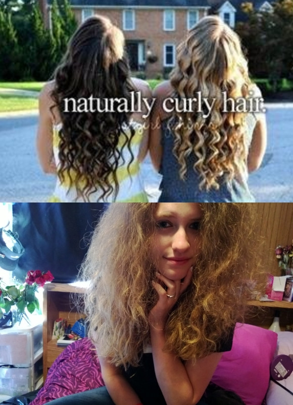 Girls Who Pretend To Have Naturally Curly Hair Just Girl Things girls who pretend to have naturally curly hair, just girl things !