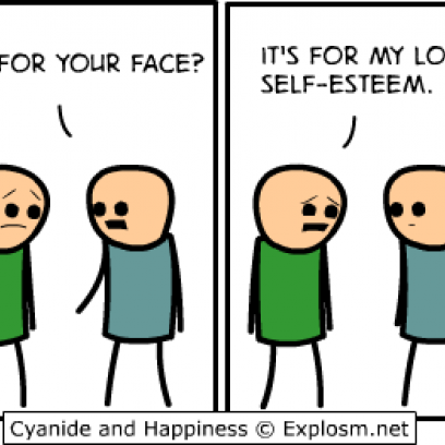 Medicine Dealing With Self Esteem Issues In Comic By Explosm_408x408 medicine dealing with self esteem issues in comic by explosm