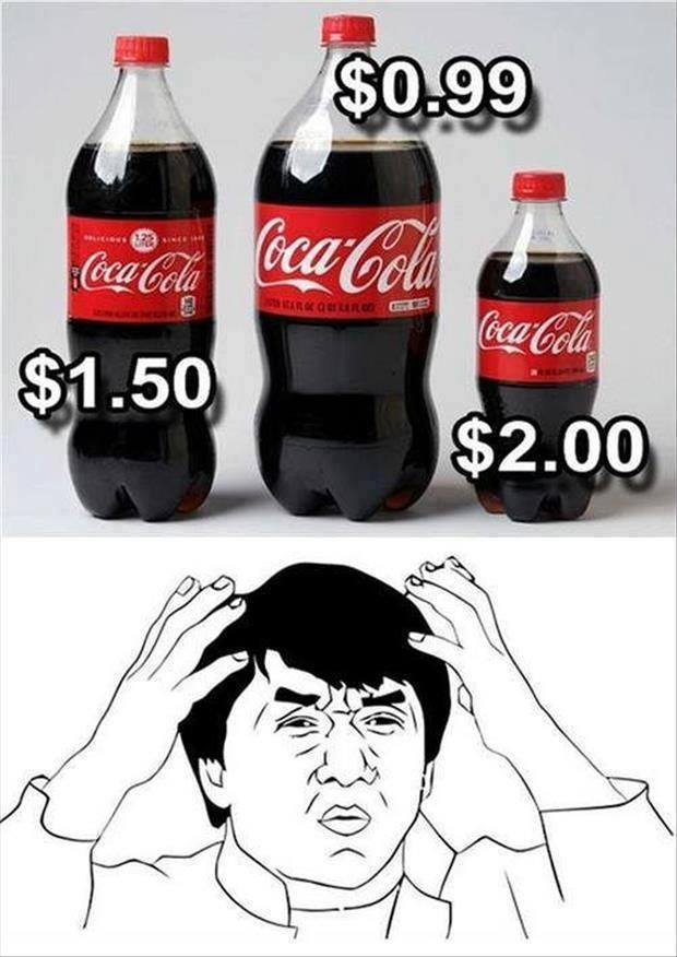 The Less Coke You Drink The More You Enjoy The Flavor Jackie Chan
