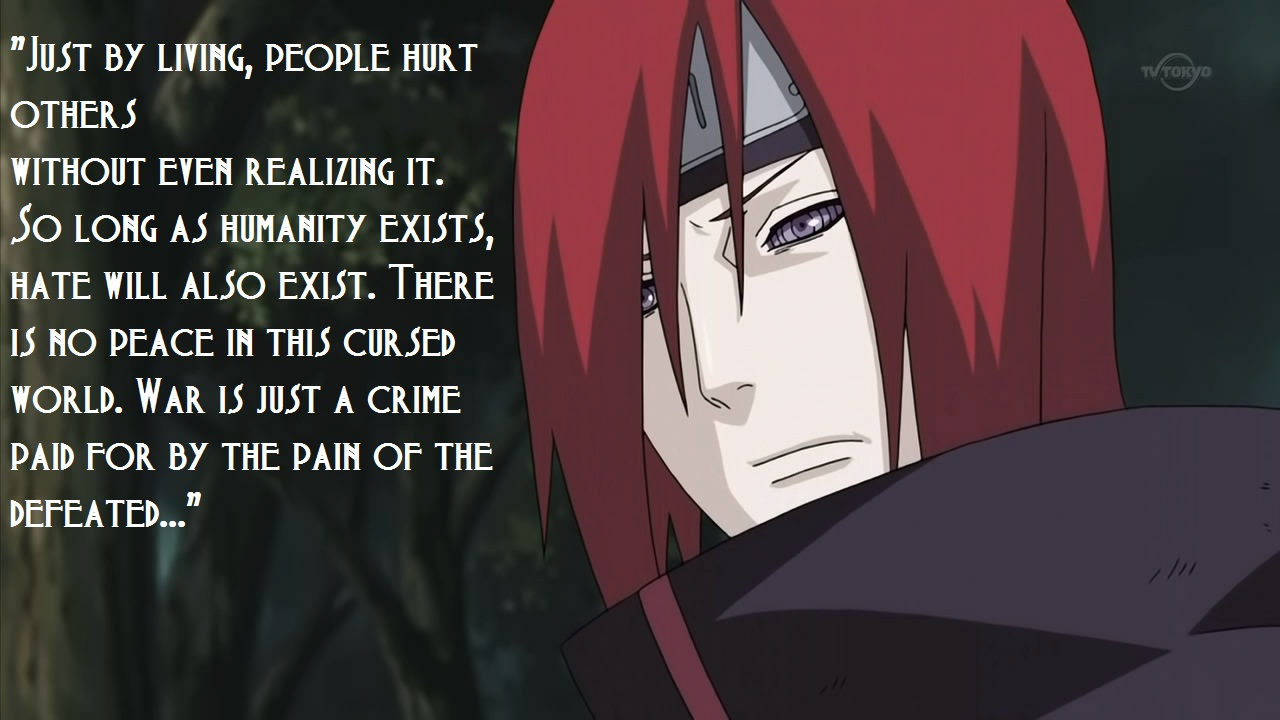 Quotes About Pain Naruto