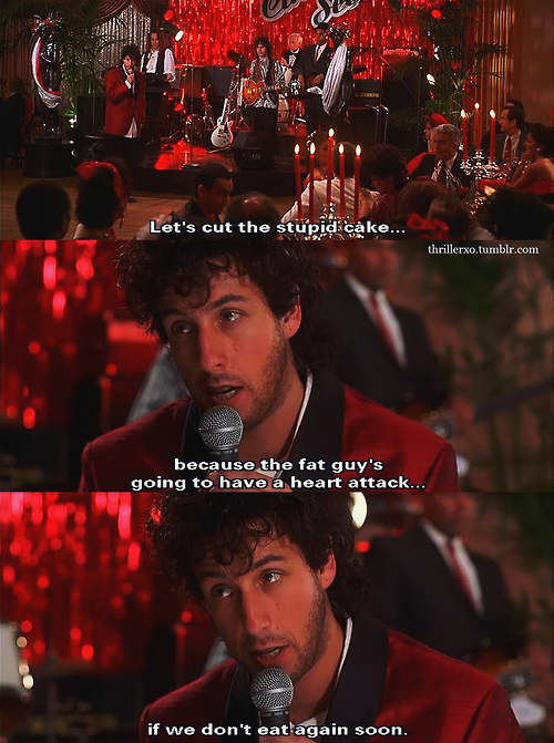 Adam Sandler Can't Handle Losing His Fiancee In The Wedding Singer Beauteous Wedding Singer Quotes
