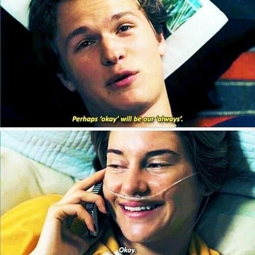 perhaps okay will be our always quote from the fault in