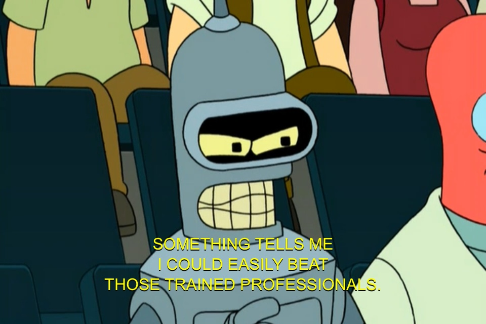 Futurama Quotes New Many People Bender's Reaction To Watching Professionals Work On