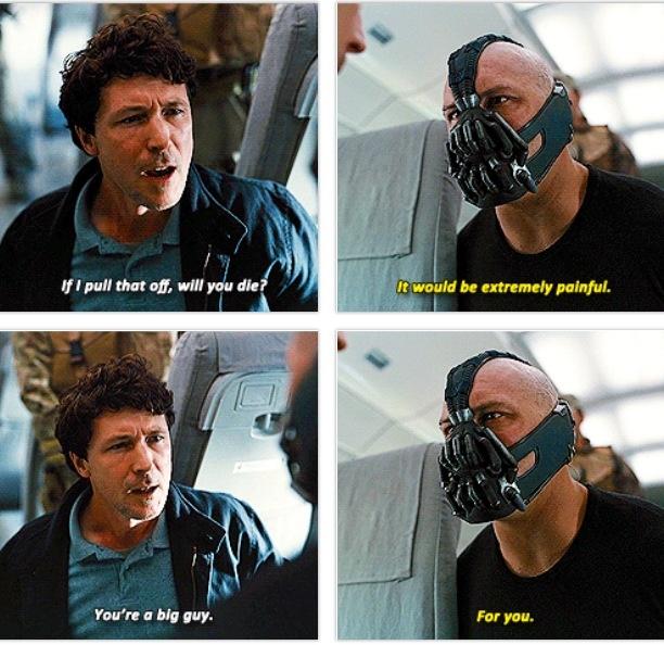 Bane plane quotes