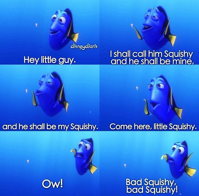 Dory Quotes Extraordinary Dory Makes Friends And Enemies With A Jellyfish Named Squishy In