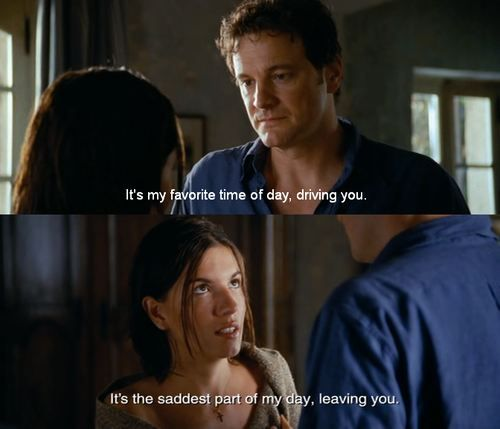 Its The Saddest Part Of My Day Leaving You Quote In Love Actually