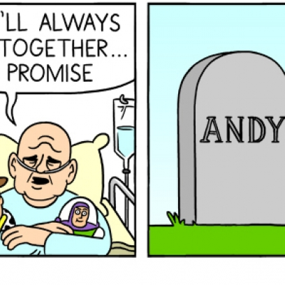 ... With Andy's Corpse In The Dark Toy Story 19 Comic By Berkeleymews