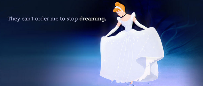 They Can't Order Me To Stop Dreaming In Disney's