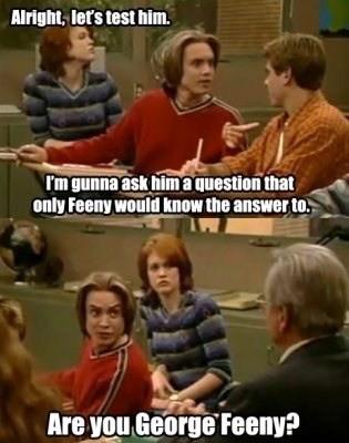 Eric Matthews Interrogates The Mr. Feeny Look A Like On Boy ...
