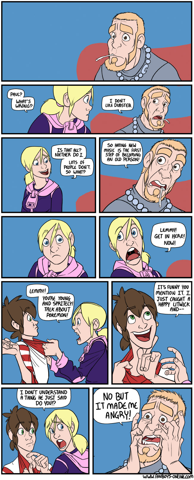 Funny Pokemon Black And White Comics boyfriend & girlfriend find out they are getting old with
